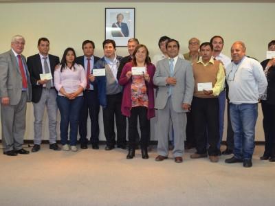 """Ceremonia entrega fondos escuelas rurales, Programa """"Somos Choapa"""""""