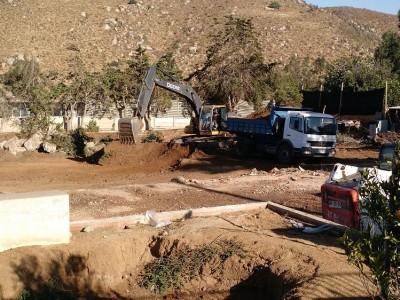 Comenzaron los trabajos para la nueva escuela Canela Baja
