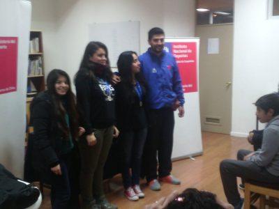 Joven Canelina campeona regional de ajedrez Sub 18