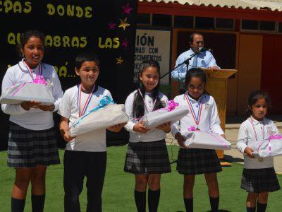 Acto finalización año escolar 2016