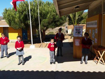 Día del carabinero Escuela Carquindaño